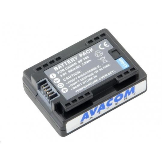 AVACOM Canon BP-709 Li-Ion 3.6V 890mAh 3.2Wh
