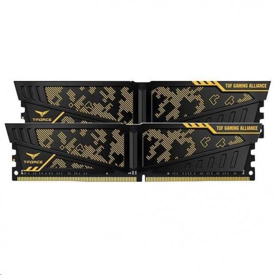 DIMM DDR4 32GB 3000MHz, CL16, (KIT 2x16GB), T-FORCE VULVAN TUF Gaming Alliance
