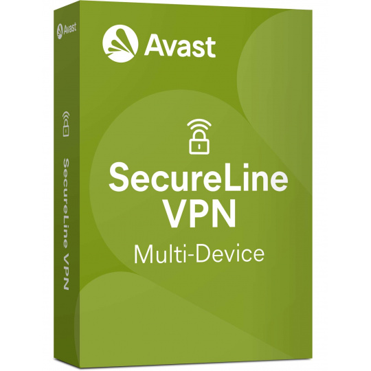 _Nová Avast SecureLine VPN Multi-device 5PC na 24 měsíců - ESD
