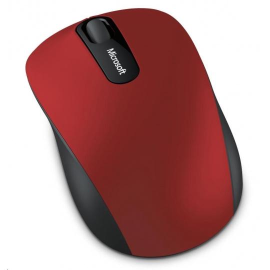 Microsoft myš Wireless Mouse 3600 RED