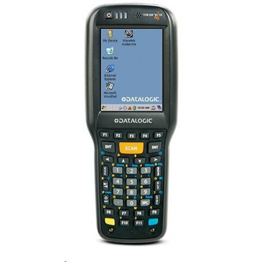 Datalogic terminálSkorpio X4 Cihla,WLAN MIMO,BT v4,1GB/8GB,38-Key ,White illum. 2D ,Win EMB Compact 7,EU