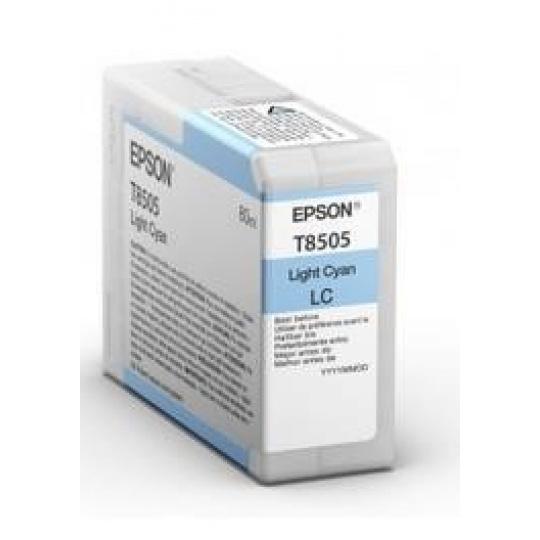 "EPSON ink bar ULTRACHROME HD ""Kosatka"" - Light Cyan - T850500 (80 ml)"