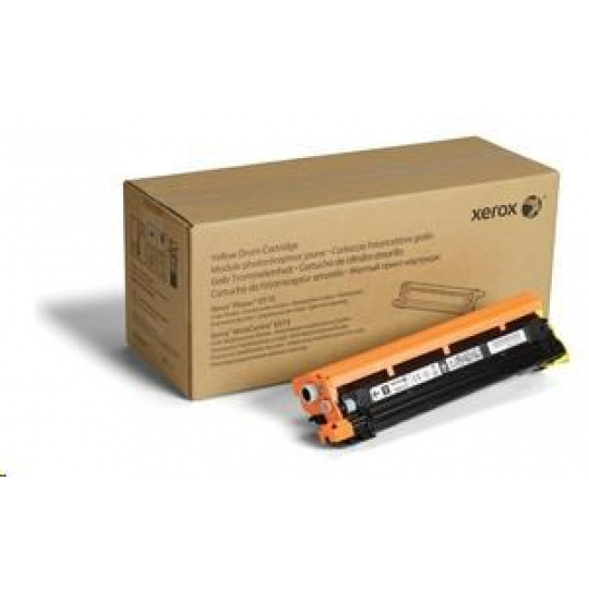 Xerox  Yellow Drum toner cartridge pro Phaser 6510 a WorkCentre 6515, (48,000 Pages)