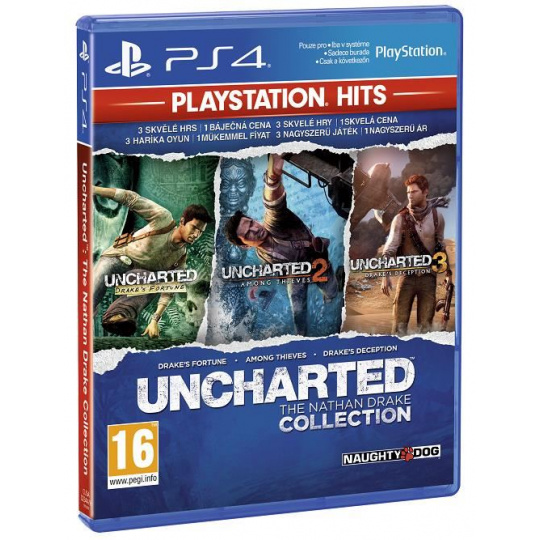 SONY PS4 hra Uncharted Collection/EAS