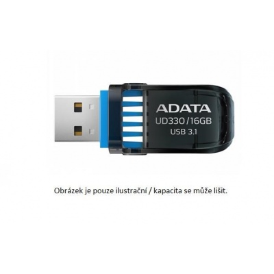 ADATA Flash Disk 128GB USB 3.1 DashDrive™ UD330, černý