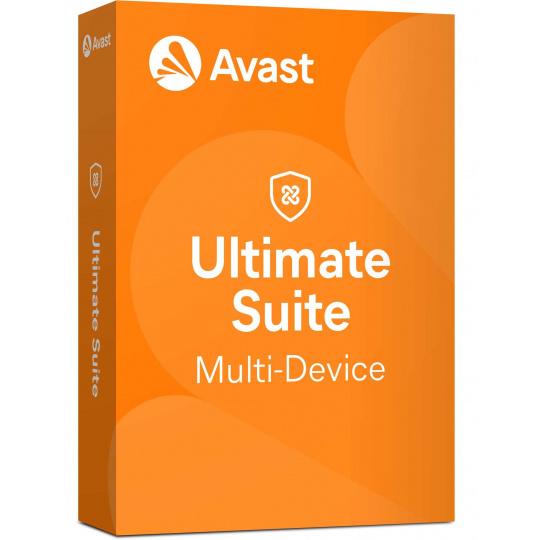 _Nová Avast Ultimate Multi-Device licence na 12 měsíců (až na 10 PC )