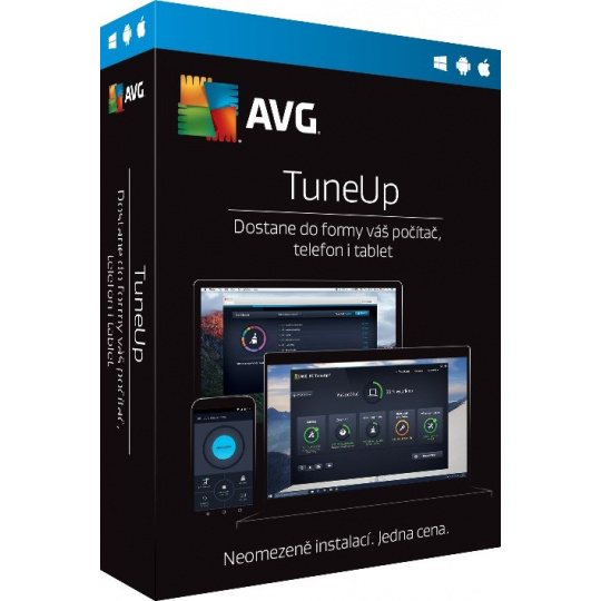 AVG TuneUp - Unlimited (12 měs.) SN Email ESD