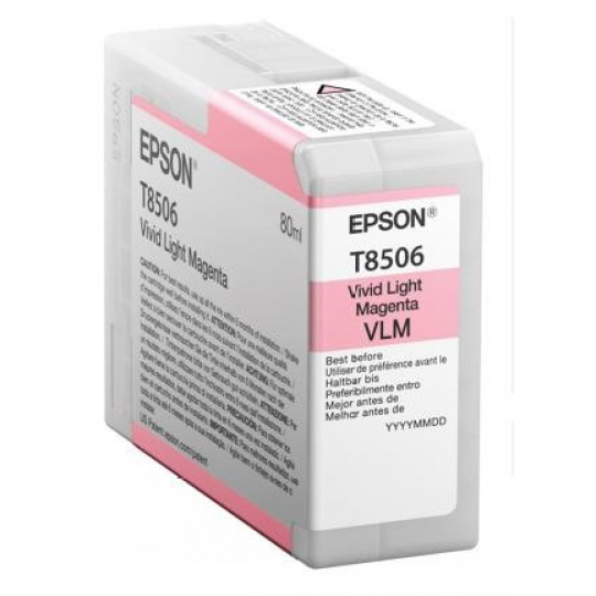 "EPSON ink bar ULTRACHROME HD ""Kosatka"" - Light Magenta - T850600 (80 ml)"