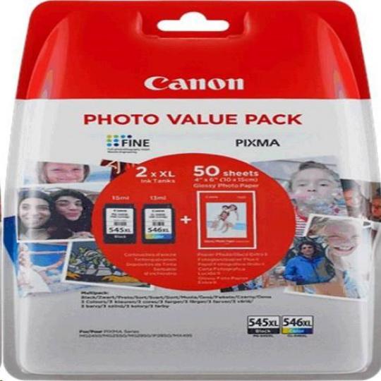 Canon BJ CARTRIDGE PG-545XL/CL-546XL PHOTO VALUE BL