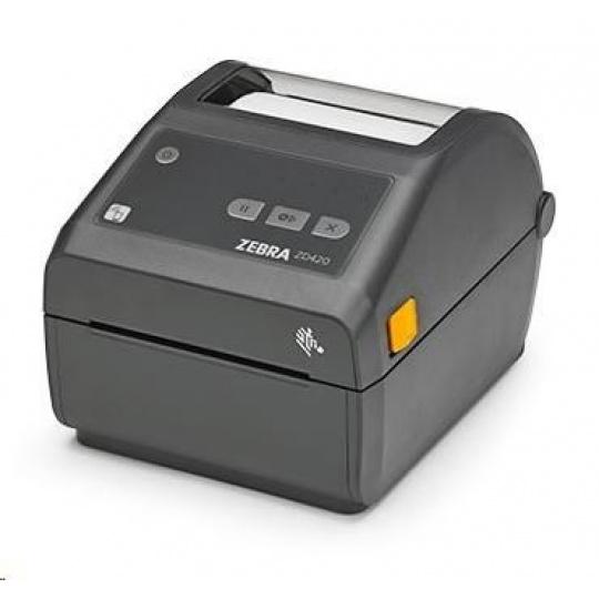 Zebra DT tiskárna etiket ZD420, 300 dpi, USB, USB Host, Modular Connectivity Slot, LAN