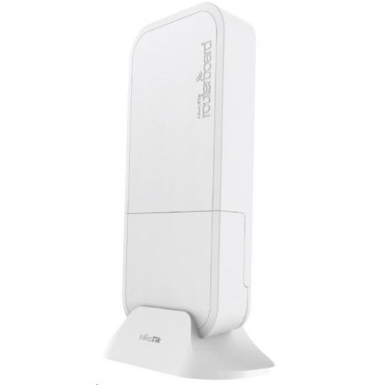 MikroTik wAP 60G AP (RBwAPG-60ad-A), 1Gbps full-duplex bez kabelů, 802.11ad, 60GHz, AP, až 8 klientů, vč.L4