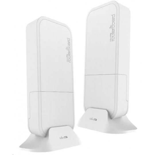 MikroTik Wireless Wire (RBwAPG-60ad kit), 1Gbps full-duplex, 802.11ad, 60GHz, již spárováno=bez nutnosti konfigurace