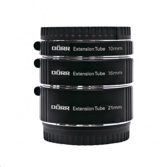 Doerr Mezikroužky 10/16/21 mm Digital (Olympus M4/3)
