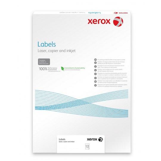 Plastový samolepicí materiál Xerox PNT Label - Clear (229g/250 listů, SRA3)