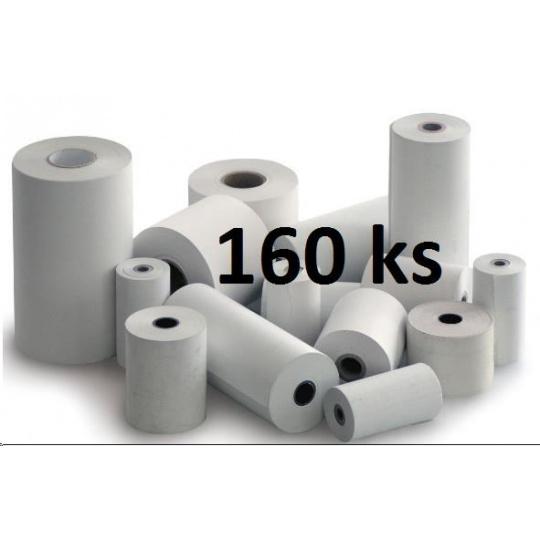 Papírový kotouč papírová páska TERMO, 57/35/12 (13m) - 160ks