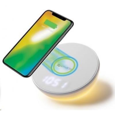 4smarts indukční nabíječka VoltBeam N8, bílá