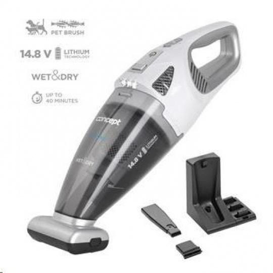 Concept VP4370 Ruční vysavač 14,8 V Wet & Dry Perfect Clean