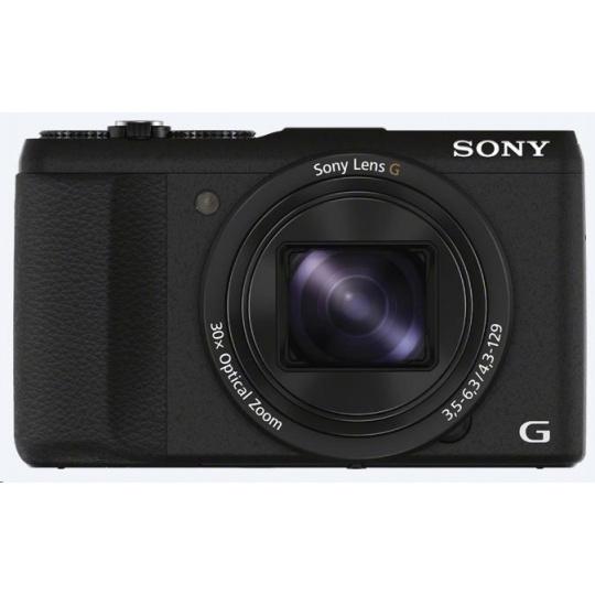 SONY DSCHX60B Cyber-Shot 20.4MPix, 30x zoom, Wi-Fi - černý