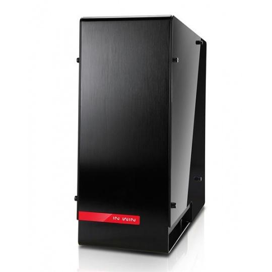 IN WIN skříň 909, Full Tower, bez zdroje, Black, USB 3.1