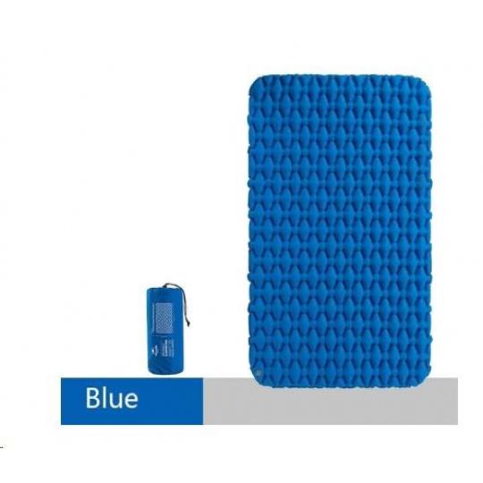 Naturehike nafukovací dvojitá karimatka FC-11 1000g - modrá