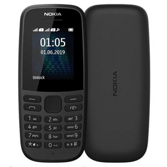 Nokia 105 Dual SIM Black 2019