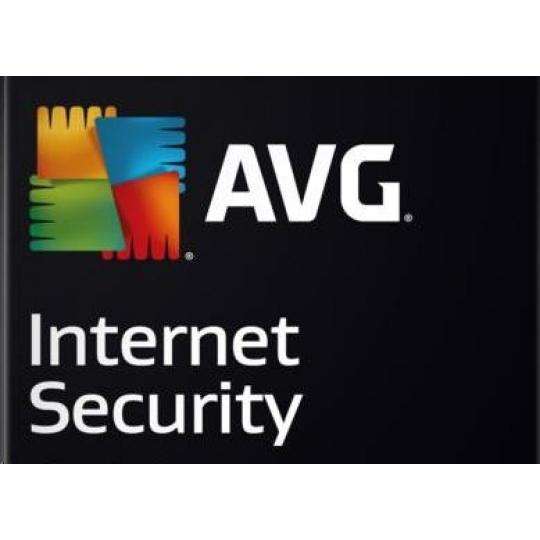 _Nová Licence AVG Internet Security pro Windows 9 lic. (36 měs.) SN Email ESD