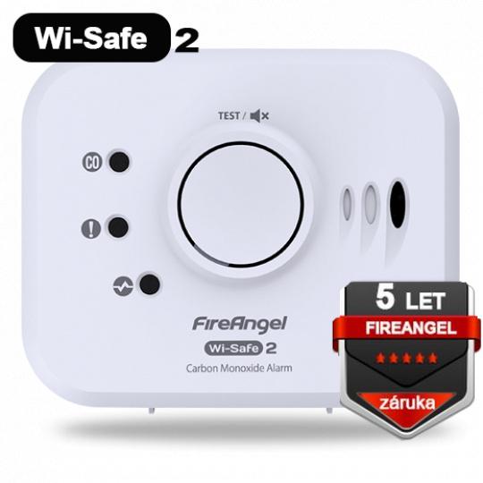FireAngel CO W2-CO-10X Wi-Safe 2