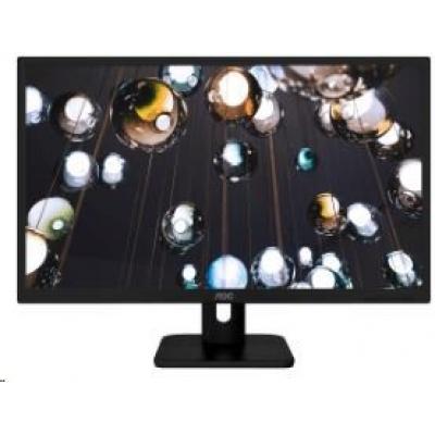 """AOC MT IPS LCD  WLED 27"""" 27E1H - IPS panel, 1920x1080, 250cd/m, 5ms, D-Sub, HDMI,"""