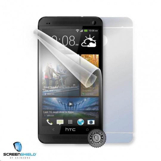ScreenShield fólie na celé tělo pro HTC One (M7) Dual sim