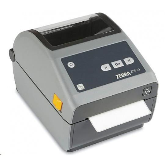 Zebra DT tiskárna etiket ZD620, 203 dpi, USB, USB Host, Serial, LAN, 802.11, BT ROW