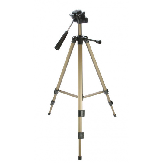 Doerr Stativ LITTLE JOE  (49-122 cm, 700 g, max.2,5kg, 3D hlava, stříbrný)